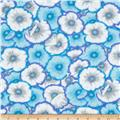 Kaffe Fassett Picotte Poppies Blue
