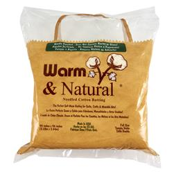 Warm & Natural Cotton Batting Full Size