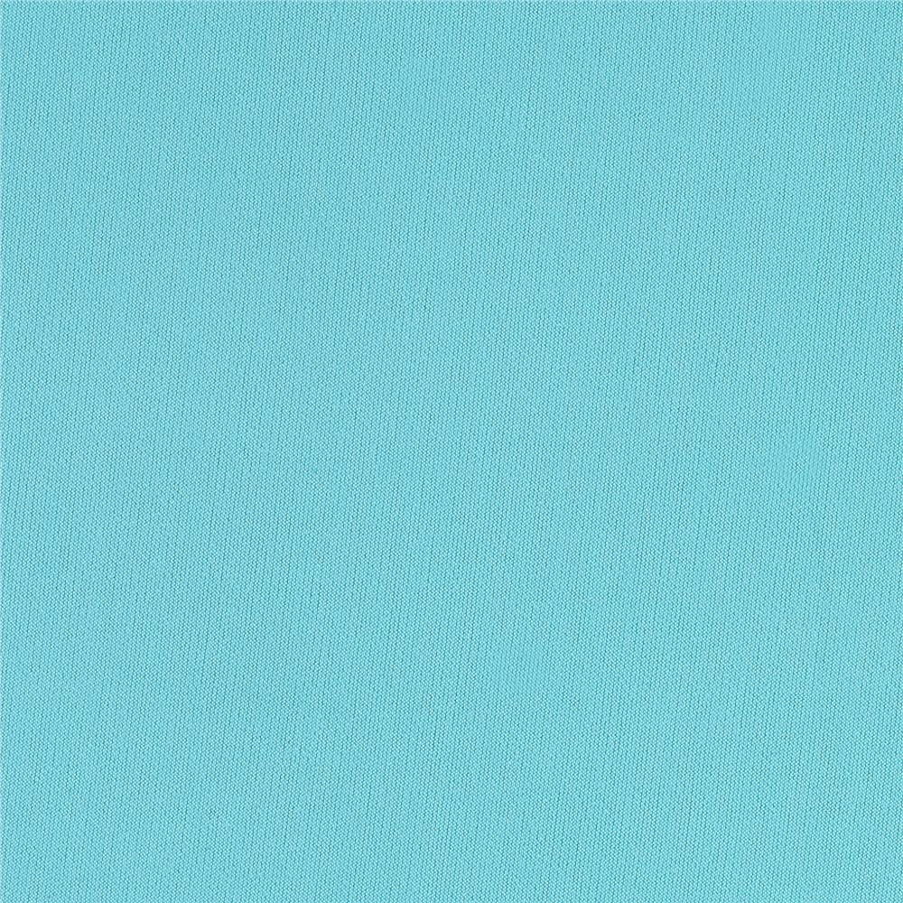Solid ITY Stretch Knit Light Turquoise Fabric