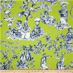 Alexander Henry Nicole's Prints The Romantics Chartreuse Fabric