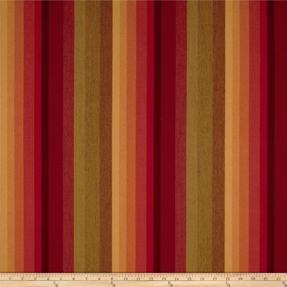 Sunbrella Outdoor Astoria Stripe Sunset