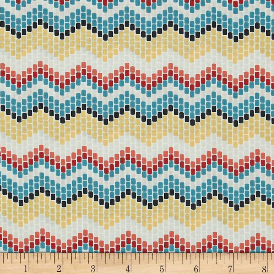 Enchanted Organic Seed Beed Chevron Multi
