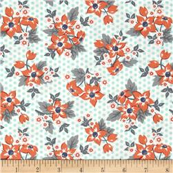Moda Sweet Marion Dotty Garden Robin's Egg/Cloud
