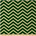 Michael Miller Holiday Glitz Sleek Chevron Spearmint