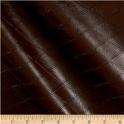 Richloom Tough Faux Leather Hovland Chocolate