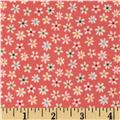 Riley Blake Flannel My Sunshine Floral Pink