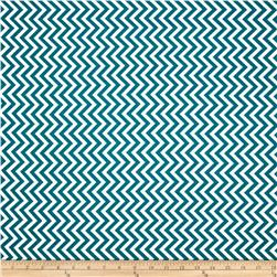 Moda Half Moon Modern Small Zig Zag Horizon Blue