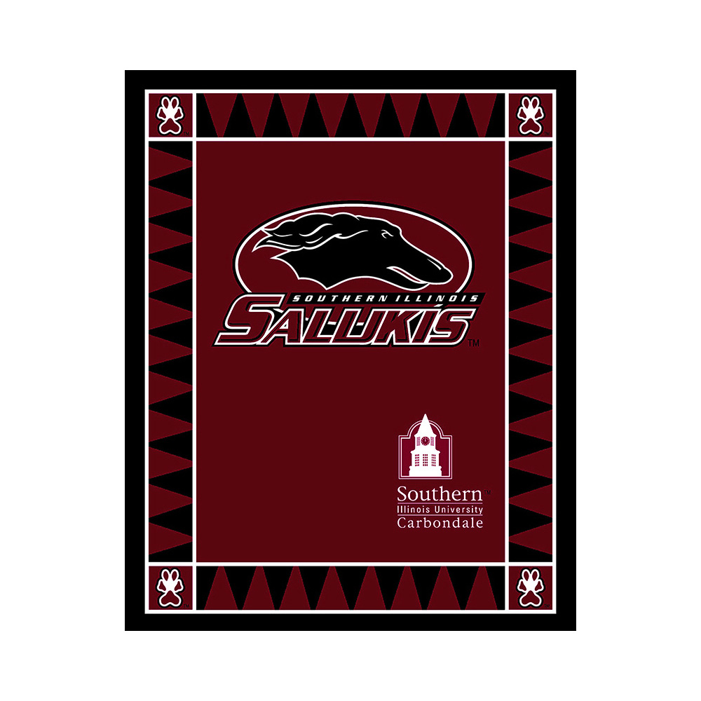 Collegiate Fleece Panel University of Southern Illinois Maroon