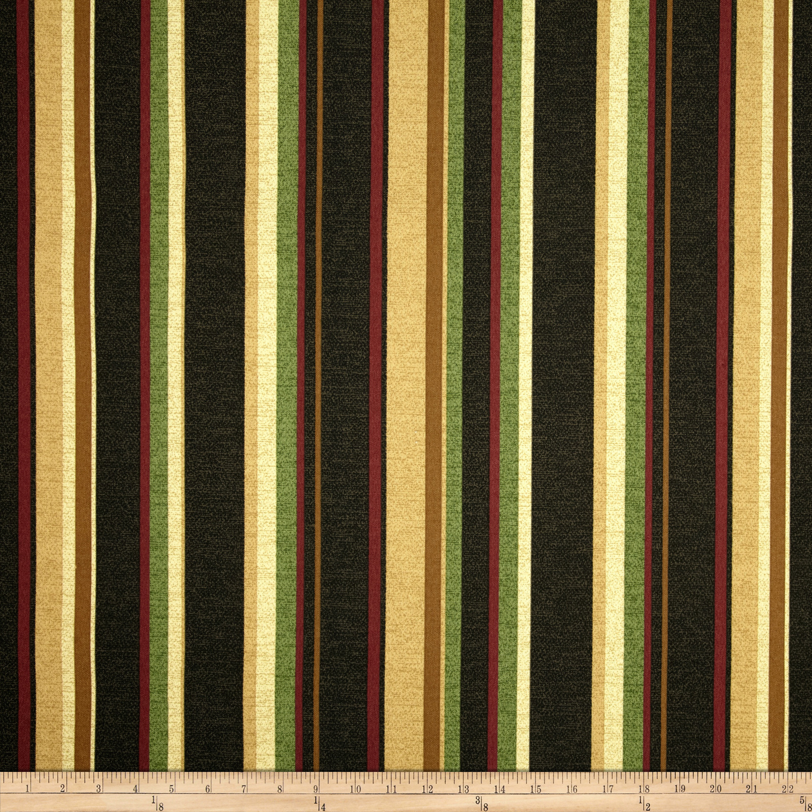Maco Indoor/Outdoor Spencerport Stripe Coal