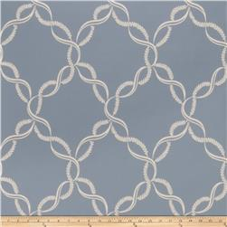 Fabricut Madeleine Wallpaper Bleu (Double Roll)