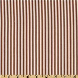 Magnolia Home Fashions Oxford Stripe Cinnamon