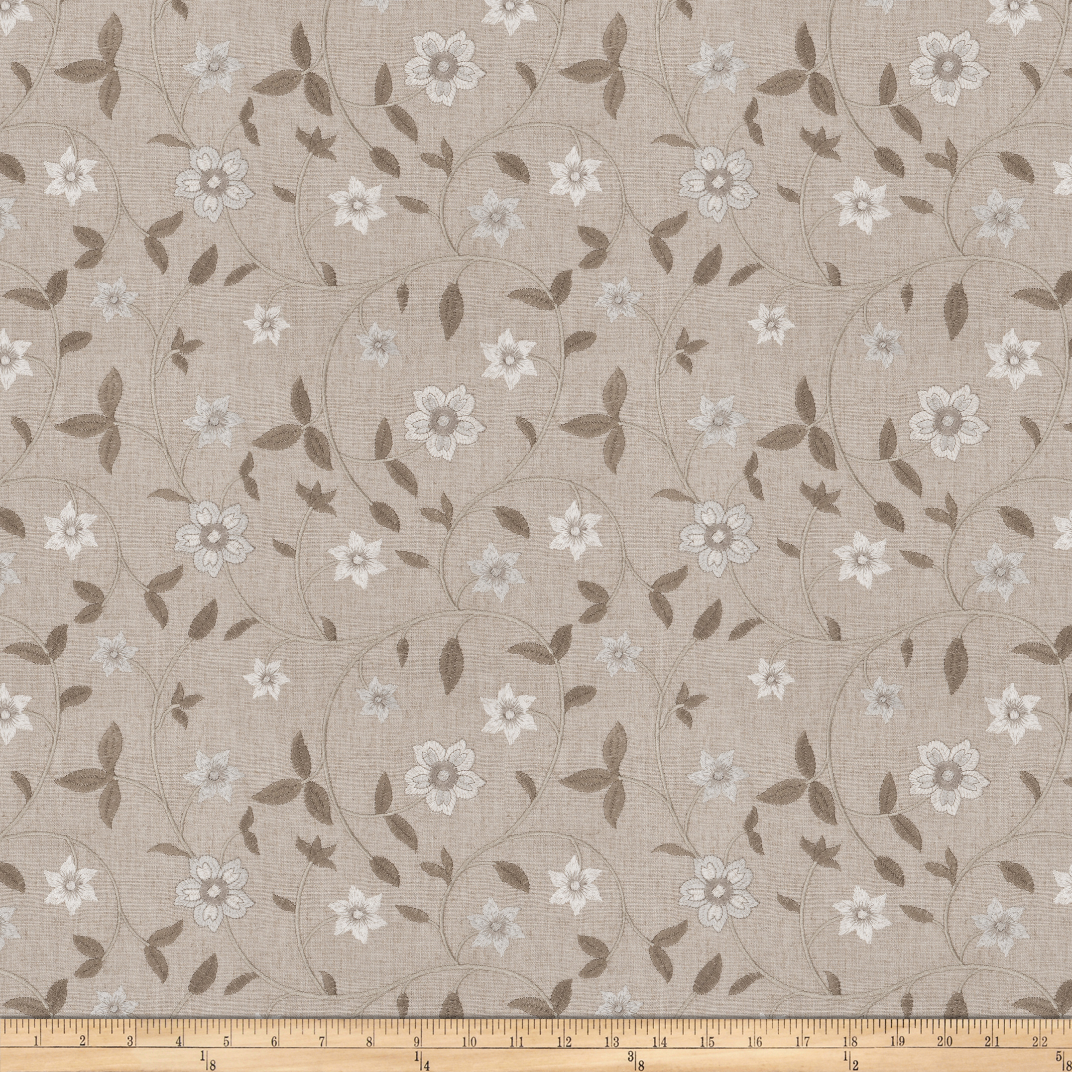Image of Fabricut Axiom Floral Dove