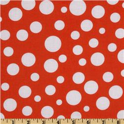 Michael Miller Lolli Dot Orange