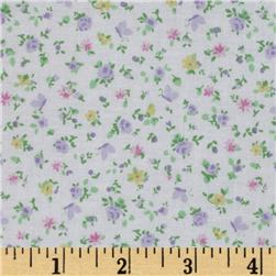 Tutti Floral White/Purple