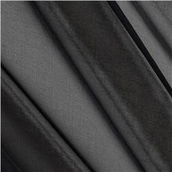 "120"" Sheer Voile Black"