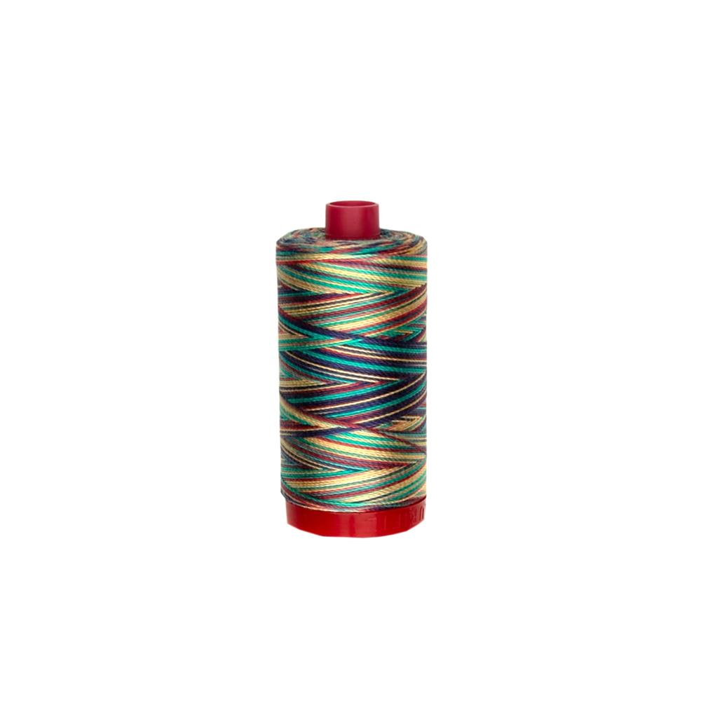 Aurifil 12wt Variegated Embellishment and Sashiko Dreams Thread Marrakesh