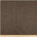 Michael Miller Laminated Cotton Dumb Dot Chocolate