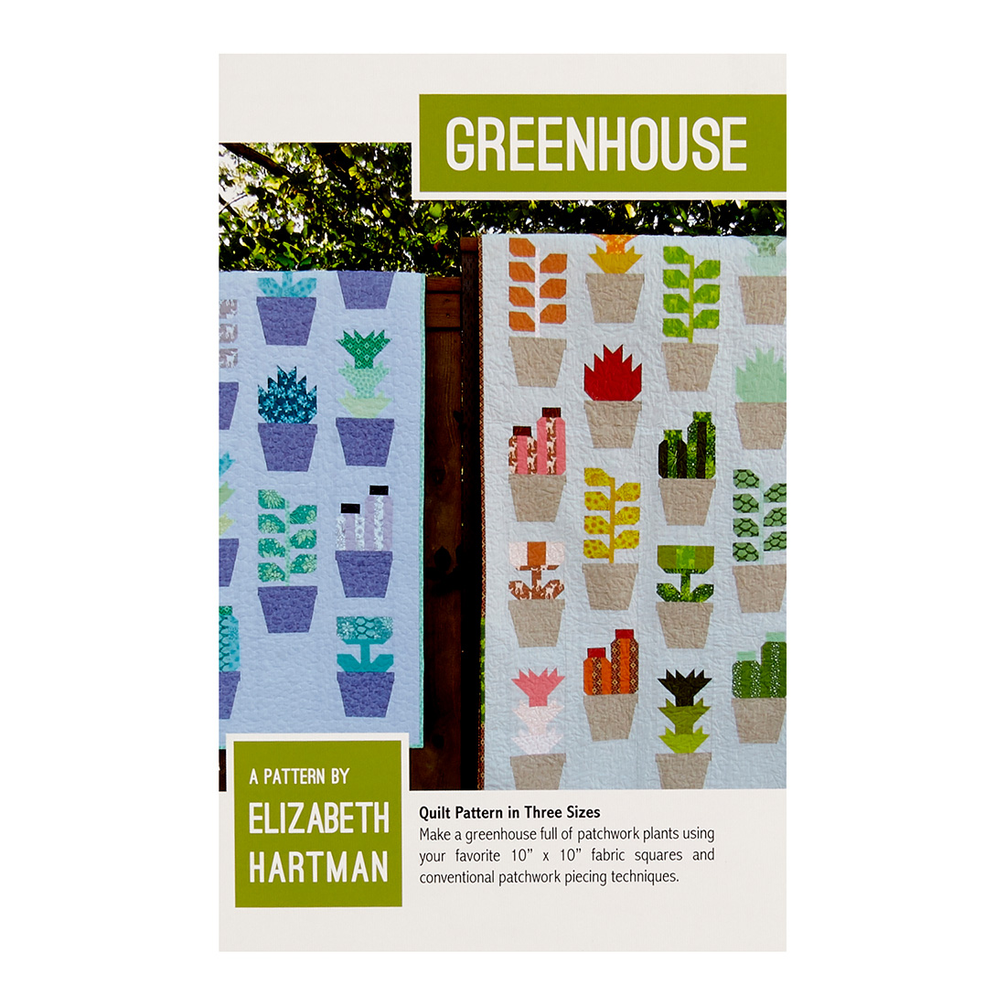 Elizabeth Hartman Greenhouse Pattern Multi