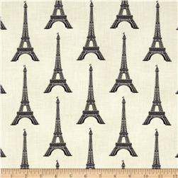 Paris Panache Eifel Tower Cream Fabric