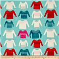 Cotton + Steel Noel My Favorite Sweater Blue