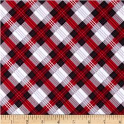 Great Scotts Flannel Mad for Plaid Red/Black