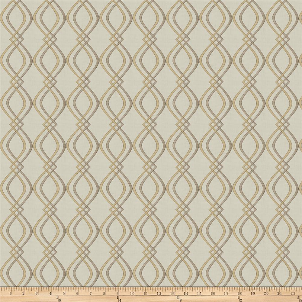 Fabricut Halyard Lattice Gold Dust