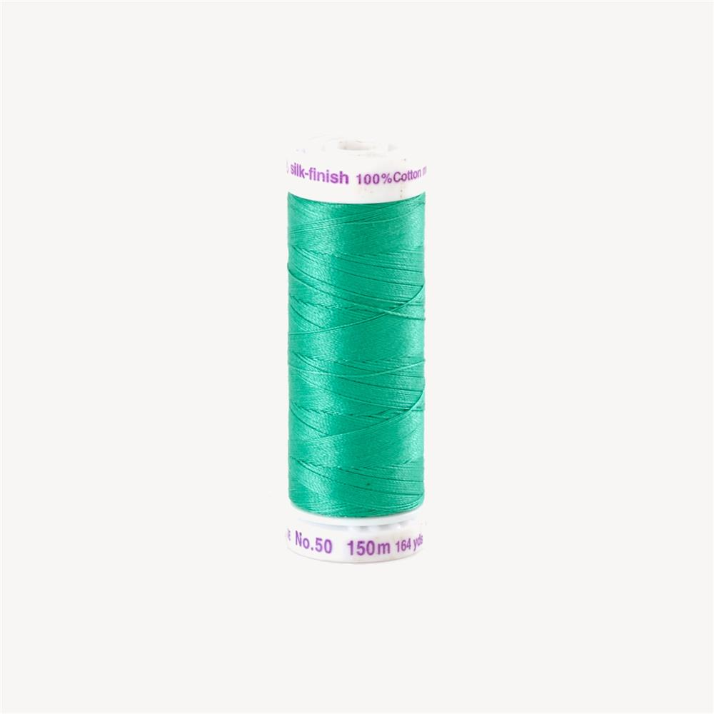 Mettler Cotton All Purpose Thread South Pacific Green