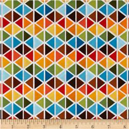 Robert Kaufman Rainbow Remix Diamond Plaid Bermuda