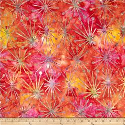 Michael Miller Batiks Passion Atomic Burst Passion Pink