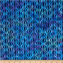 Michael Miller Batik Lava Light Navy