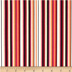 Garden View Stripe Orange