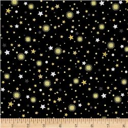 All That Glitters Metallic Stellar Toss Black