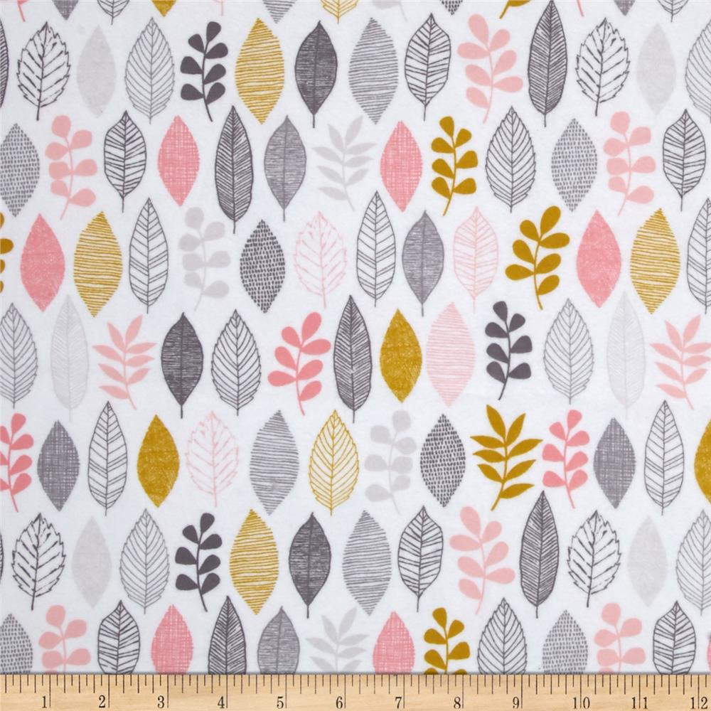 Cloud 9 Organic First Light Flannel Leaf Sampler White