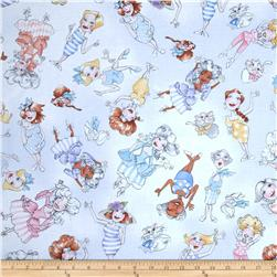 Up and Away Airheads on Sky Blue Fabric
