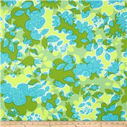 Erin Mcmorris Summersault Sateen Shadowplay Grass