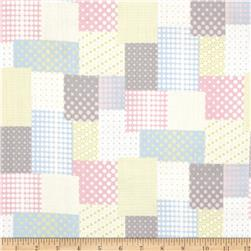 Seven Islands Double Cotton Gauze Patchwork Multi