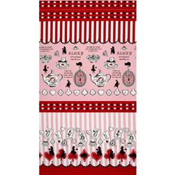 Lecien Judie's Cotton Cards & Silhouette Border Pink