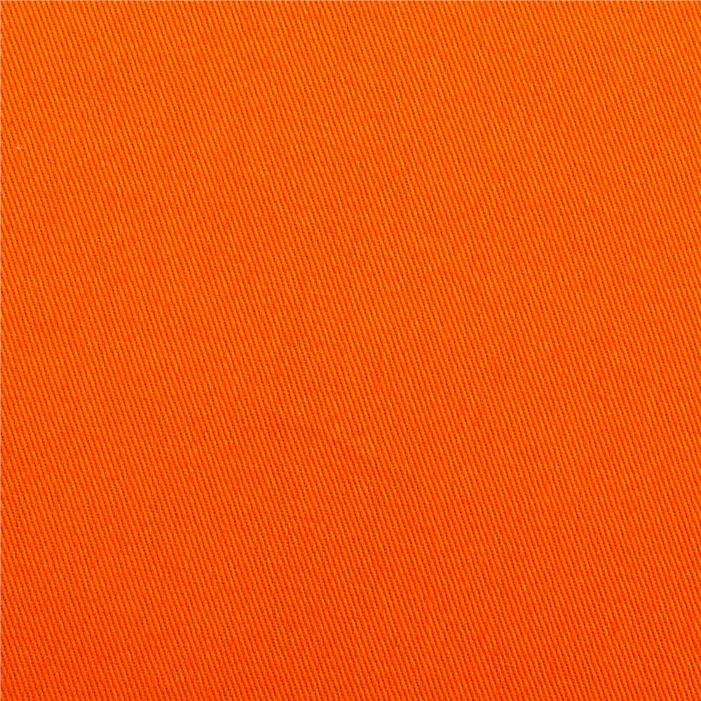 Cotton Twill Orange Crunch