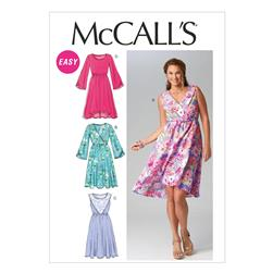 McCall's Misses' Dresses Pattern M6890 Size 0Y0