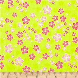 Kingston Mini Floral Green