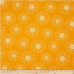 Palm Springs Mono Florals Orange