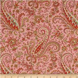 M For Mystery Large Paisley Pink