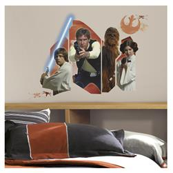 Star Wars Classic Burst Giant Wall Decal