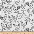 Farm To Table Hens White