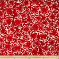 Artisan Batiks Color Source Starburst Red