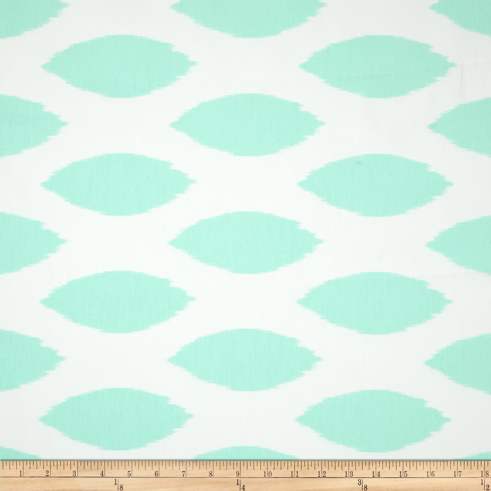 Premier Prints Twill Chipper Mint Fabric by Premier in USA