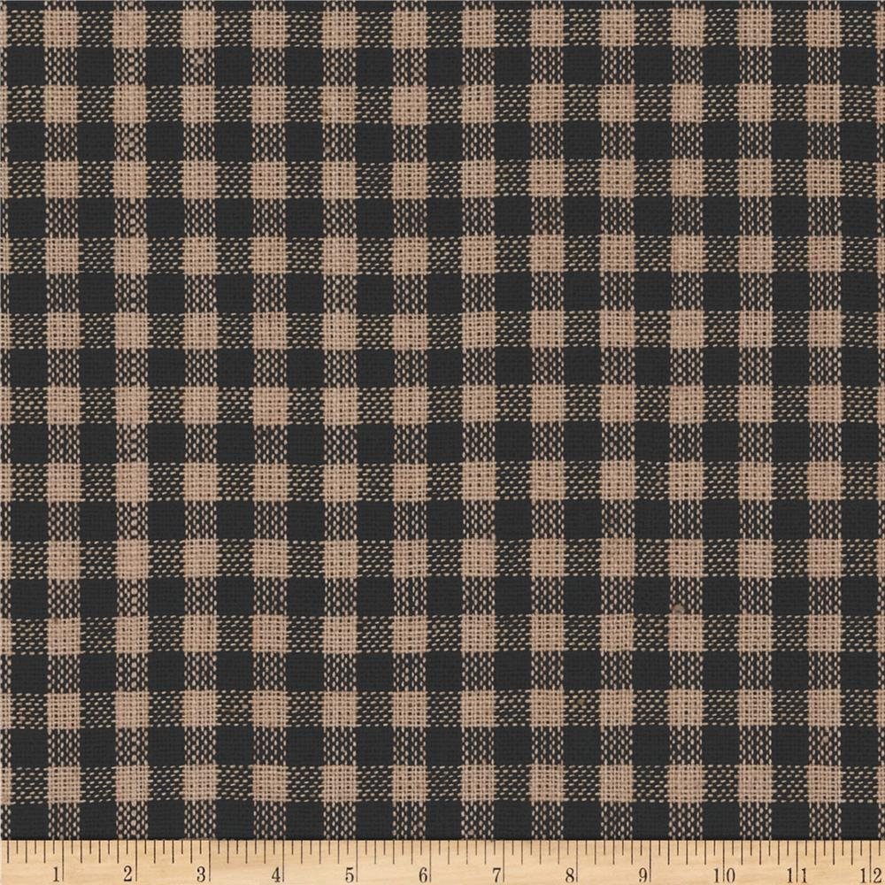 Homespun Basics Plaid Tan/Black