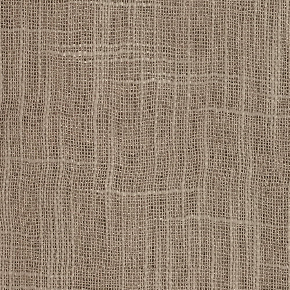 Image of 110'' Faux Linen Sheer Champagne Fabric