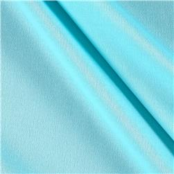 Nylon Activewear Knit Solid Pale Aqua