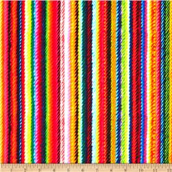 Kanvas In Stitches Knitting Stripe Multi Fabric